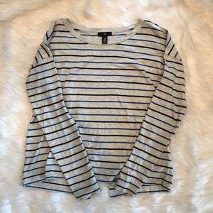 Gap Long Sleeve Striped Shirt